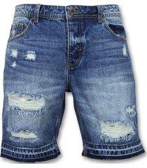 korte broek enos korte spijkerbroek - shorts - j965 -