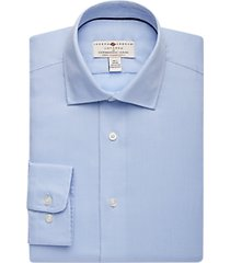 joseph abboud voyager light blue diamond shirt