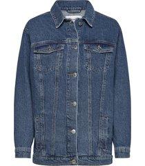 malcolm jacket wash bright orlando jeansjack denimjack blauw tomorrow