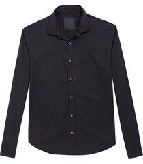 camisa john john regular black preto masculina (preto, gg)
