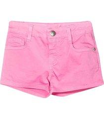 richmond mid-rise denim shorts