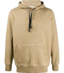 1017 alyx 9sm hooded sweatshirt - neutrals