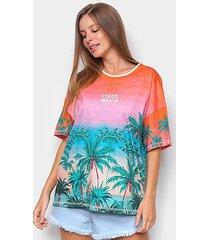camiseta colcci trendsetter summer feminina - feminino
