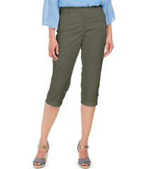 karen scott comfort-waist capri pants, created for macy's