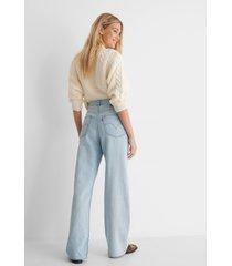 levi's loosey goosey höga lösa jeans - blue