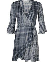 ambika jurk grijs larrissa