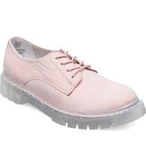 woms lace-up snörade skor låga rosa tamaris