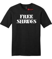 free shrugs mens soft tee