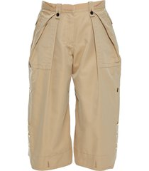 sacai 3/4-length shorts