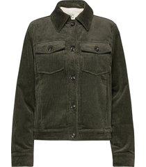 jackets outdoor woven jeansjack denimjack groen edc by esprit