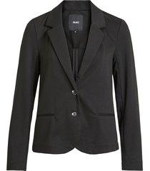 zwarte blazer sweat kwaliteit objshelly - object