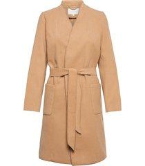 viapple coat/tb yllerock rock brun vila