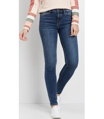 flying monkey™ womens dark wash skinny jeans blue - maurices