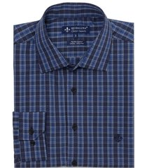camisa dudalina manga longa fio tinto maquinetada xadrez masculina (xadrez 2, 7)