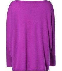 absolut cashmere violet flue sweater