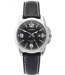 reloj formal negro casio