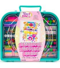 it's so me emoticon message bead case