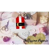 santa suit christmas holiday favor tags tags gift tags party instant download