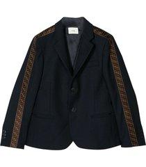 fendi blue jacket