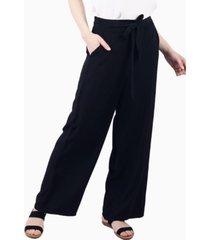 pantalón greta con lazo negro jacinta tienda