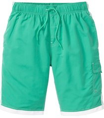 bermuda da spiaggia regular fit (verde) - rainbow