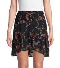 lilie paisley print mini skirt