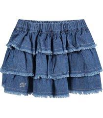 blumarine blue skirt for babygirl