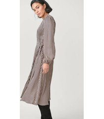 omlottklänning ed ls wrap dress
