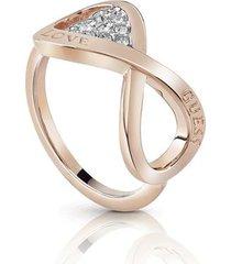 anillo guessendless love/ubr85005-54 - oro rosa