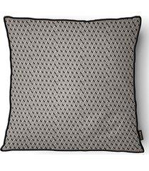 almofada decorativa serenity com cordone 089 50x50cm preta