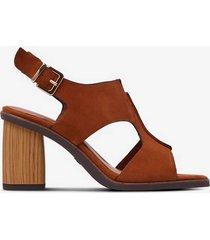 sandalett i skinn