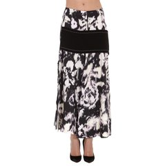 3.1 phillip lim abstract daisy layered skirt