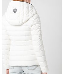 mackage women's andrea coat - white - m