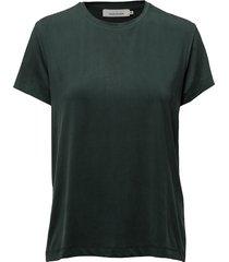 siff tee 6202 t-shirts & tops short-sleeved groen samsøe & samsøe
