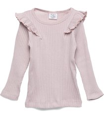 alexia - t-shirt s/s t-shirts long-sleeved t-shirts rosa hust & claire