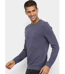 blusa hering básica manga longa masculina