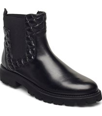 jazziga shoes boots ankle boots ankle boot - flat svart steve madden