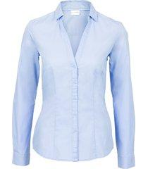 camicia elasticizzata (blu) - bodyflirt