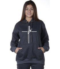 blusa moletom alice monteiro cruz da fé religioso moletom de frio