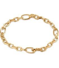gold alta capture mini link charm bracelet
