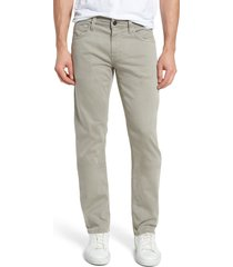 men's mavi jeans zach straight leg pants, size 29 x 30 - grey