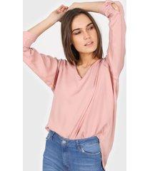 blusa rosa new liza