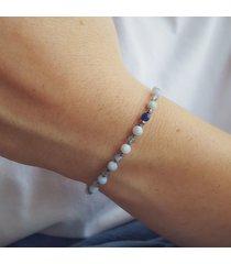 bransoletka błękitny opal i labradoryt
