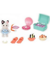 calico critters - seaside treasure set