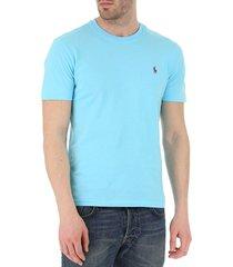 camiseta azul turquesa polo ralph lauren ssl-tsh