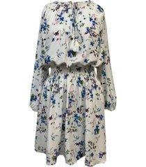 taylor tassel-tie peasant dress