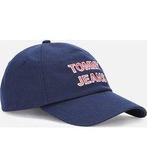 tommy jeans women's tjw graphic cap - twilight navy