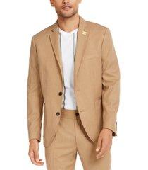 inc men's asher slim-fit pinstripe blazer, created for macy's