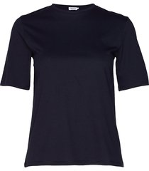 annie cotton t-shirt t-shirts & tops short-sleeved blå filippa k
