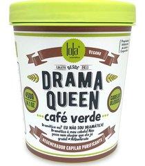 regenerador capilar purificador lola cosmetics drama queen café verde 450g